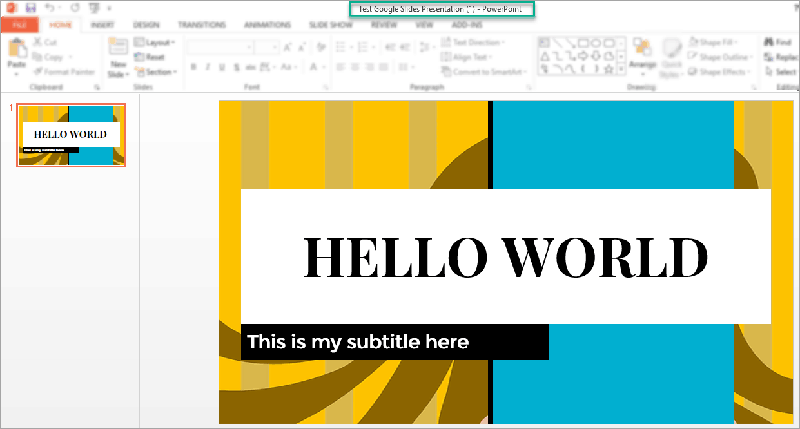 google slides course